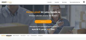 Amazon satıcı hesabı açma